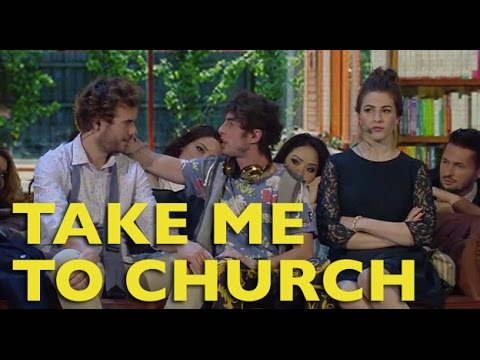 Take me to church parodia panpers feat diana del bufalo youtube