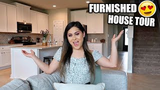 Furnished HOUSE TOUR! + SELLING MY ENTIRE CLOSET!