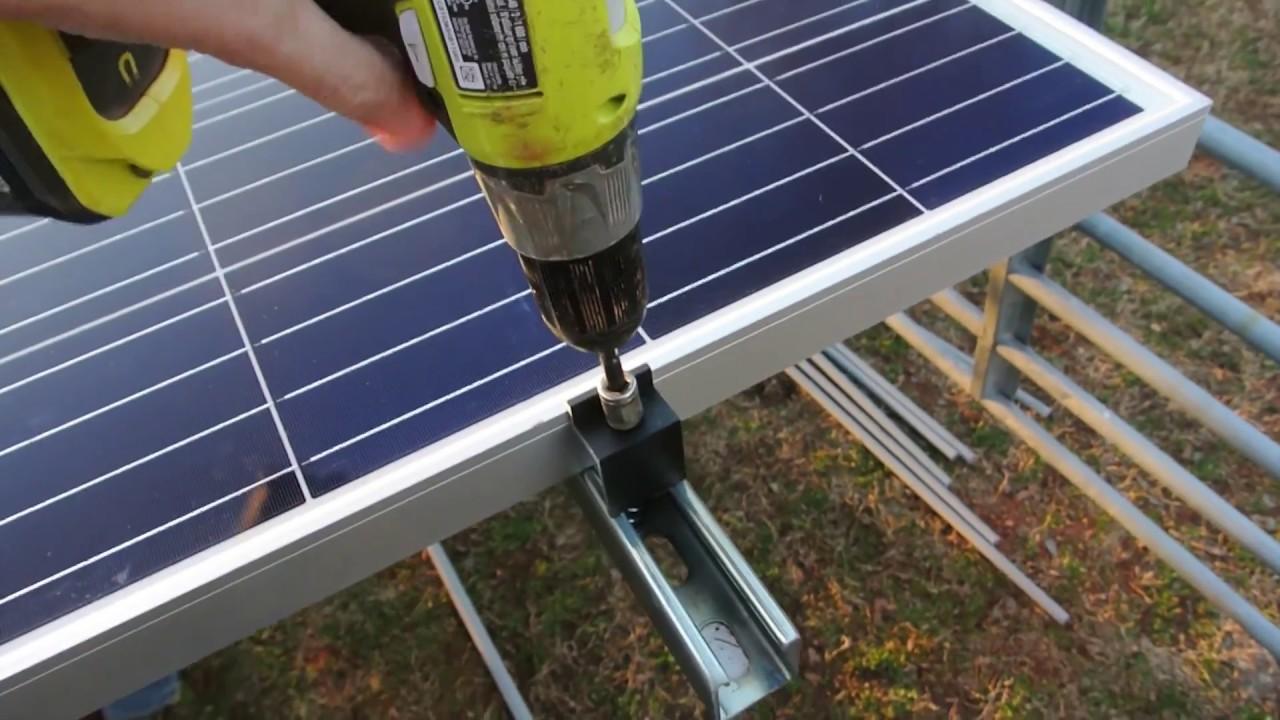 BUILDING A 10,000 WATT SOLAR FARM - Part 1!