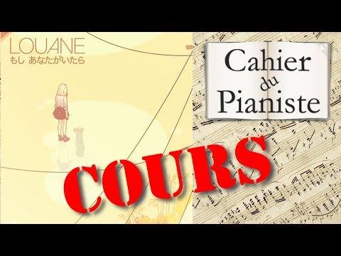 Apprendre  Louane - Si T'étais Là - Piano Solo