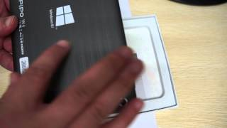 "Pipo W4 Intel Windows 8.1 Quad Core 8"" Tablet PC Unboxing Review"