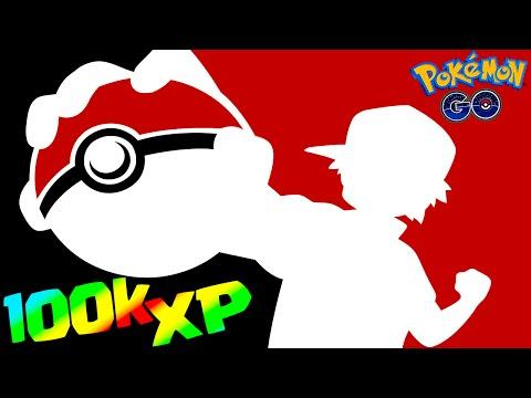 Pokemon GO 100,000 XP in 30 minutes! How to RANK UP FAST Tips & Tricks (Pokémon Go Evolution Trick)