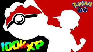 Pokemon GO 100,000 XP in 30 minutes! How to RANK UP FAST Tips & Tricks (Pokémon Go Evolution Trick)