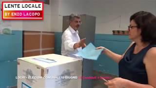 LOCRI - ELEZIONI COMUNALI 10 Giugno - il Voto dei 2 Candidati a Sindaco (by EL)