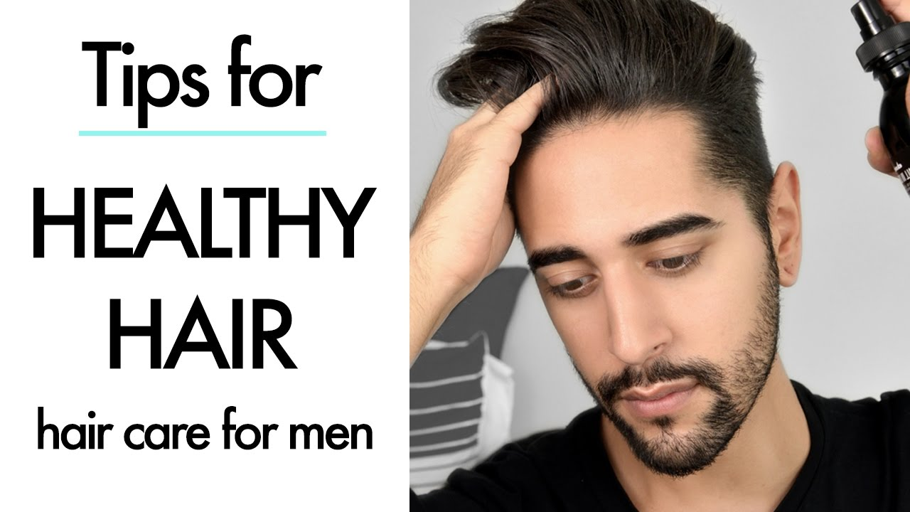 Healthy Hair Styles: Healthy Hair Tips & Products For Men (men's Hair Care
