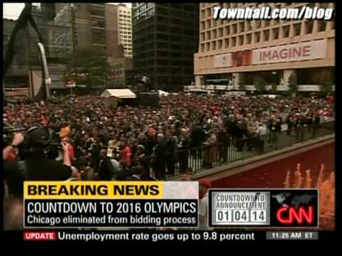 "Chicago Loses Olympic Bid; CNN Freaks Out: ""WHAT!?"""