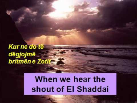 THE SHOUT OF EL SHADDAI. By Paul Wilbur