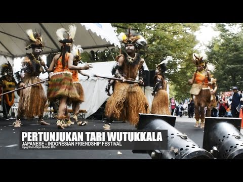 THE WUTUKKALA DANCE OF WEST PAPUA | Japanese-Indonesia Friendship Festival Tokyo 2016