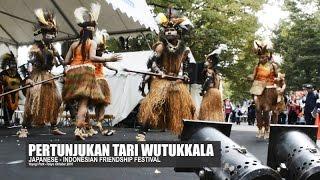 Video THE WUTUKKALA DANCE OF WEST PAPUA | Japanese-Indonesia Friendship Festival Tokyo 2016 download MP3, 3GP, MP4, WEBM, AVI, FLV Oktober 2018