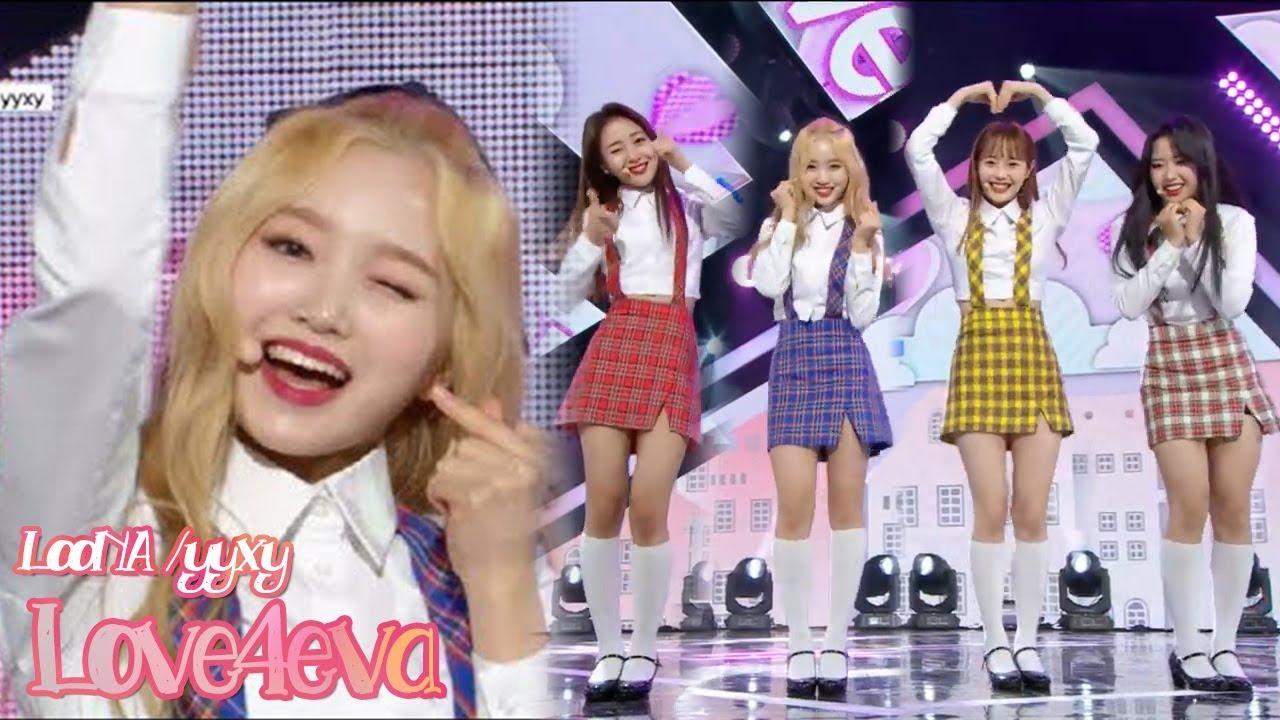 Download [HOT] LOONA/yyxy   - love4eva, 이달의 소녀 yyxy - love4eva Music core 20180623