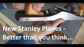 Handplane Essentials - Why Chris Schwarz is wrong about the 'new' Stanley Planes