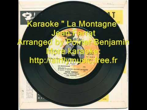 Karaoke La montagne