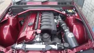 bmw e30 with custom m52 b30 stroker engine w schrick cams first start drive