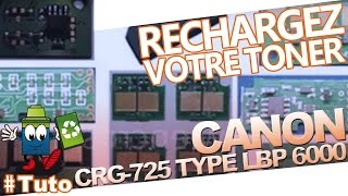 CRG-725 Canon Type LBP 6000 : Bien Recharger Le Toner(, 2013-12-04T15:55:09.000Z)
