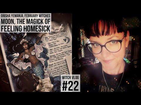 An emotional Witches Moon Unboxing, Orisha Yemanja & a Homesick Witch #22