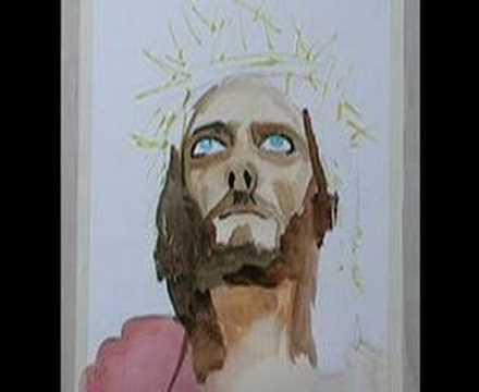 Risultati immagini per painting jesus