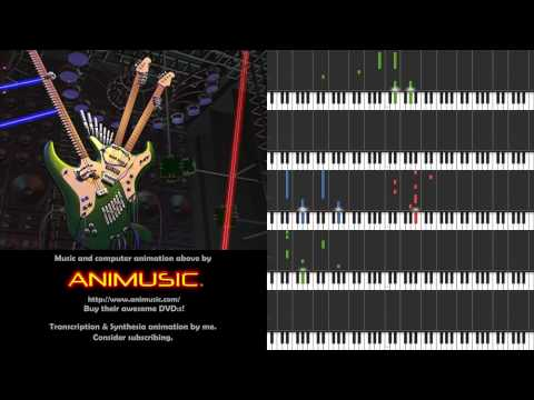 Animusic - Future Retro [Synthesia sheet music]