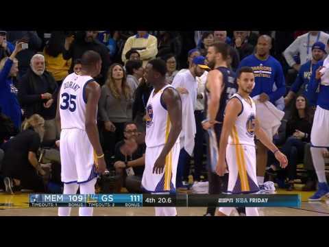 Memphis Grizzlies vs Golden State Warriors | January 6, 2017 | NBA 2016-17 Season