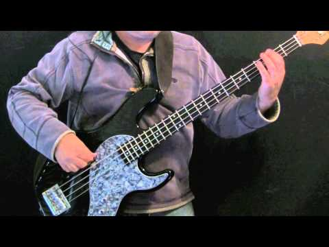 How To Play Bass Under The Bridge Flea
