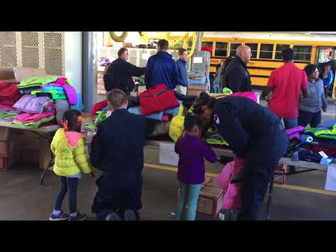 Fire Chief Richard Bowers Talks About Winter Coat Distribution