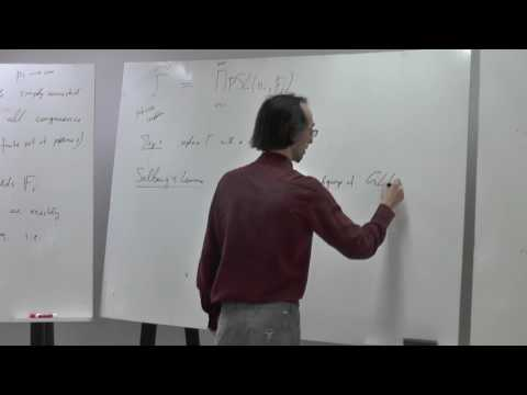 Arithmetic groups - Nikolov 3