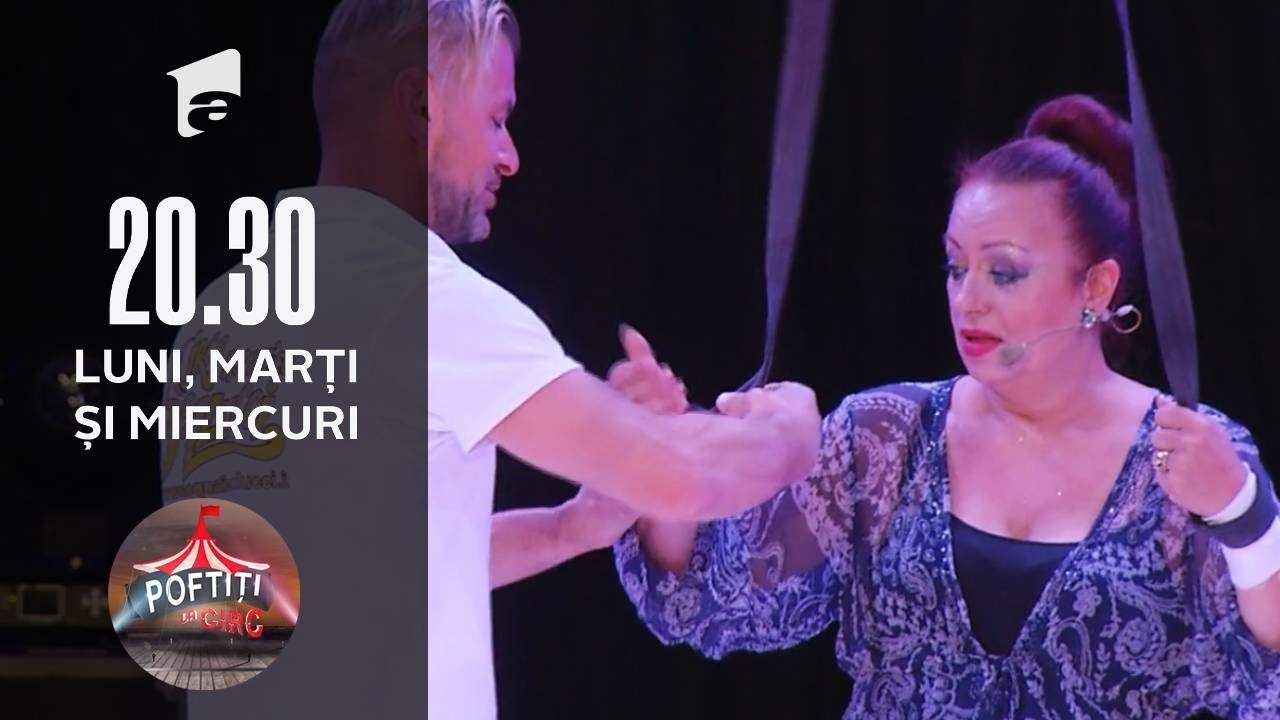 Poftiți la Circ | Spectacol cu acrobație și sărituri cu Iuliana Luciu și Adriana Trandafir