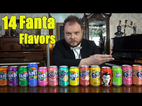 14 Fanta Flavors