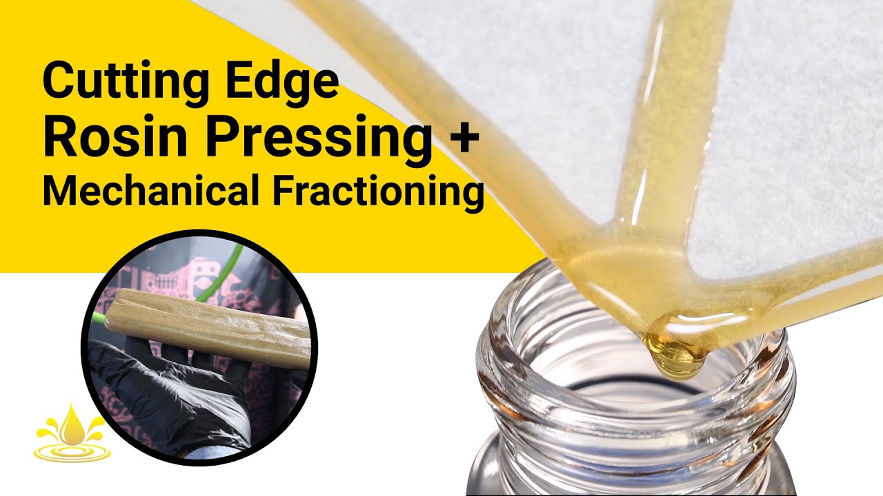 Cutting Edge Rosin Pressing & Mechanical Fractioning