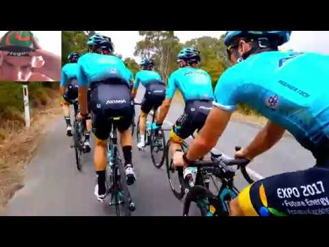 Training With The Pros Peter Sagan & Team Astana + A Mystery Rider
