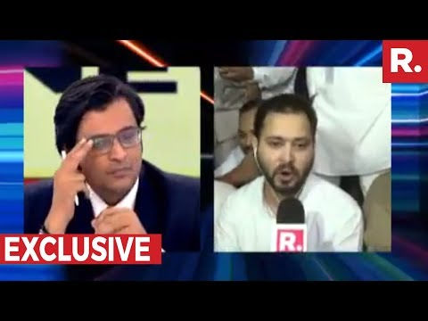 Arnab Goswami Speaks To Tejashwi Yadav | Exclusive