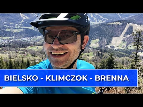 Beskidzki klasyk rowerowy: Bielsko - Klimczok - Brenna (Vlog118)