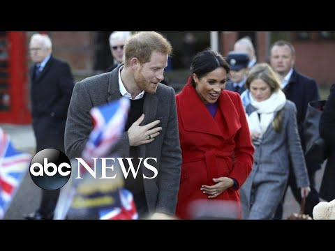 Prince Harry and Meghan Markle step out in Birkenhead