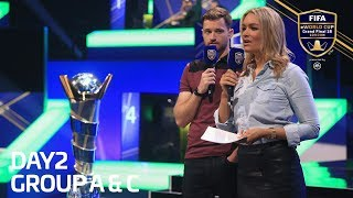 FIFA eWorld Cup 2018 - Groups A & C (English Commentary)