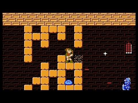 Zelda 2 - Final part 1: Great Palace Path/Exploration