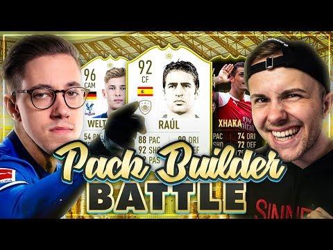 FIFA 19: Pack Builder BATTLE vs HandOfBlood 🔥