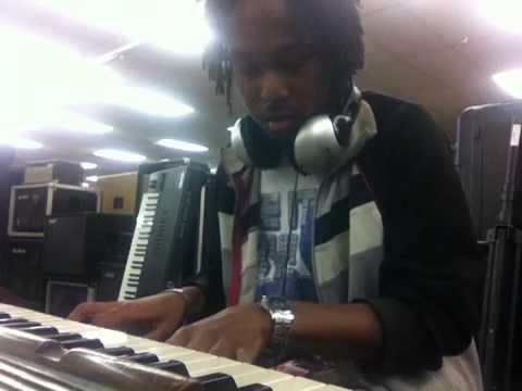 Me on a Hammond C3 Organ