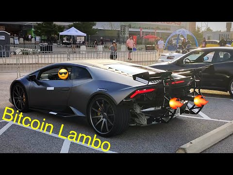 1st Lambo Bought With Bitcoin | Cars & Coffee Austin At COTA