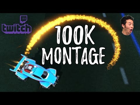 100K TWITCH MONTAGE | FLIP RESETS, DOUBLE TOUCHES, AIR DRIBBLES, AND MORE!