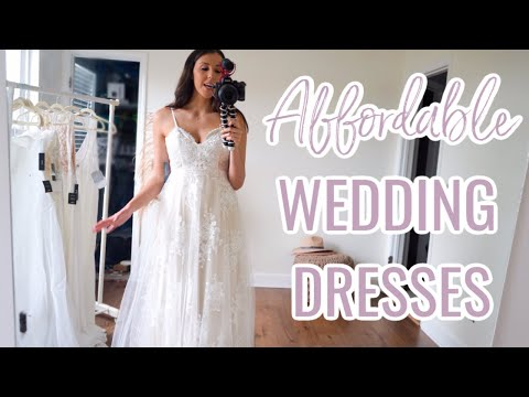 LULUS AFFORDABLE WEDDING DRESS HAUL UNDER $450!