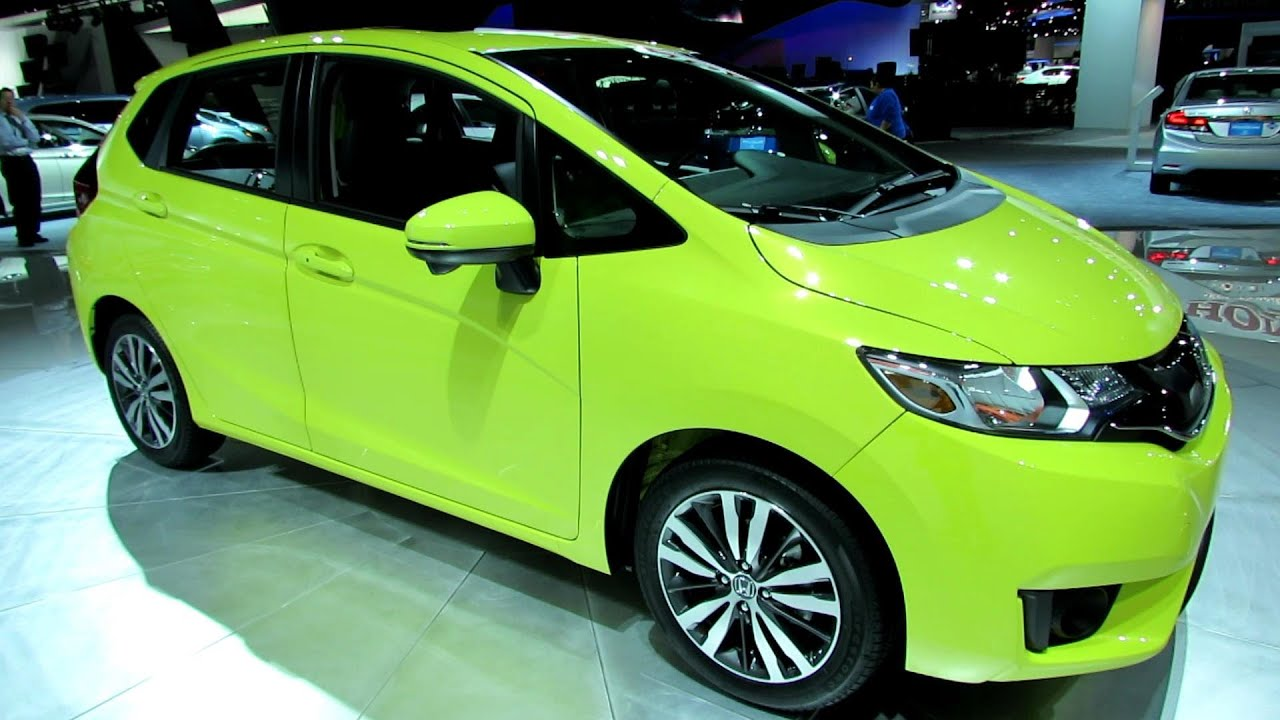 2015 Honda Fit Exterior And Interior Walkaround Debut