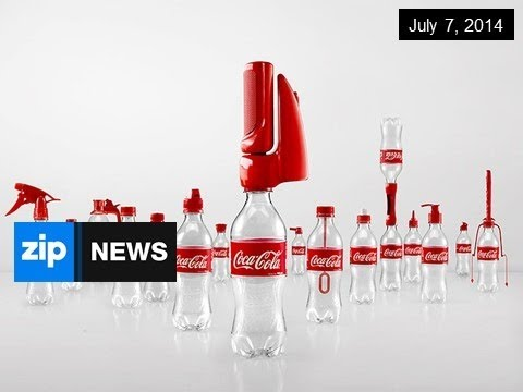 Coca-Cola Invents 16 New Bottle Caps - July 7, 2014