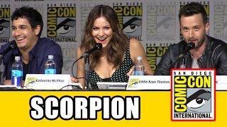 Scorpion Comic Con 2015 Panel - Season 2, Elyes Gabel, Katherine McPhee, Robert Patrick, Jadyn Wong