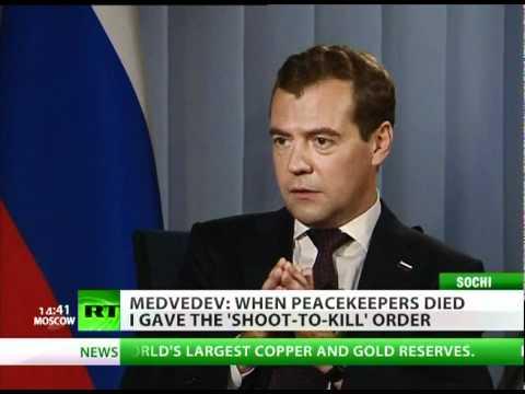 Grim fate awaits Assad if no reforms - Medvedev to RT