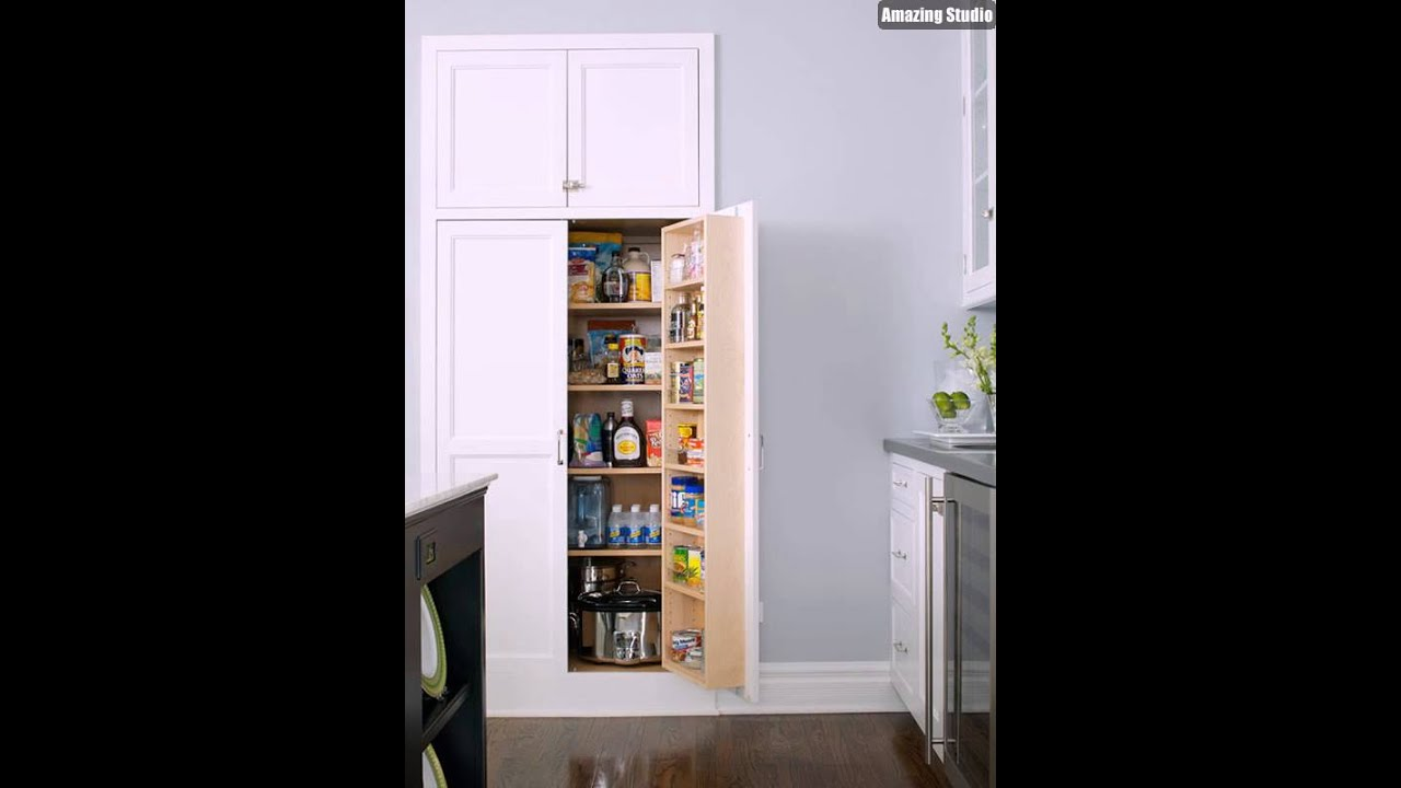 small pantry cabinet built in recessed kitchen pantry design 26394