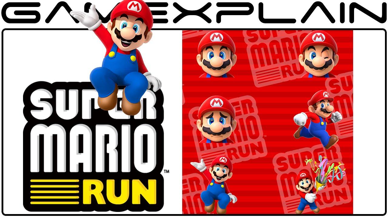 Super mario run imessage sticker slideshow youtube