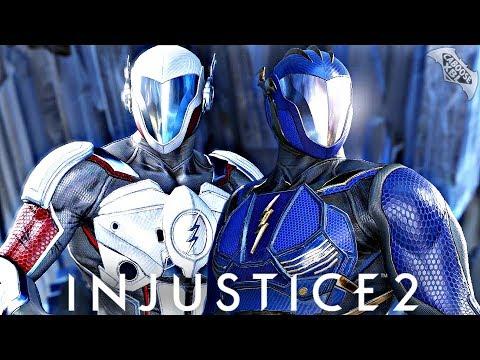 Injustice 2 Online - EPIC HOT PURSUIT FLASH GEAR!