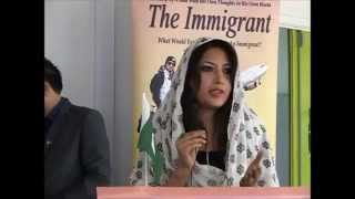 THE IMMIGRANT BOOK by Syed Kashif Sajjad Book LAUNCH EVENT Pakistan National Anthem