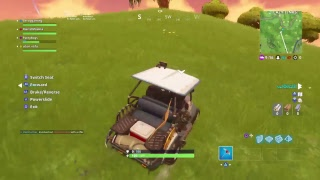 Messing around with the golf carts