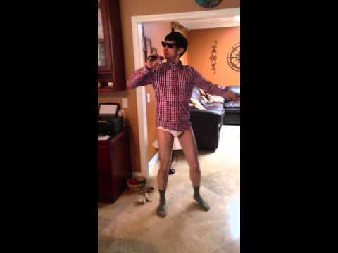 Mike Lane Dancing in His Underwear (Risky Business)