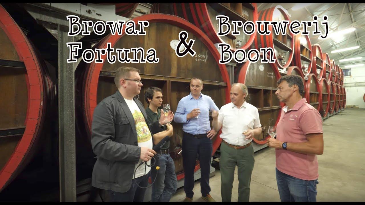 Kooperacyjne piwo Browaru Fortuna i Brouwerij Boon (napisy PL) (ENG sub)